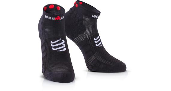 Compressport ProRacing V3 juoksusukat Ironman 2017 , musta